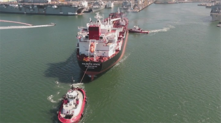 Video: Palmetto State - Final ECO Class tanker to be constructed at NASSCO - returns from sea trials