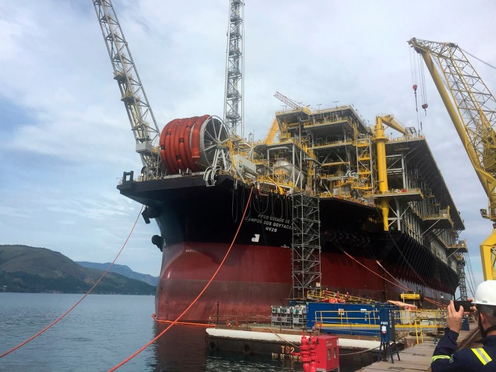 Keppel's BrasFELS shipyard has delivered its fifth FPSO project for MODEC