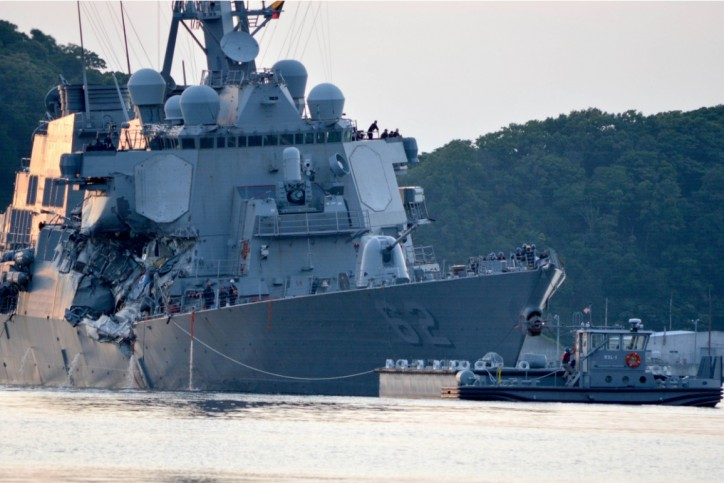US Navy Temporarily Relieves Commander of Stricken Warship