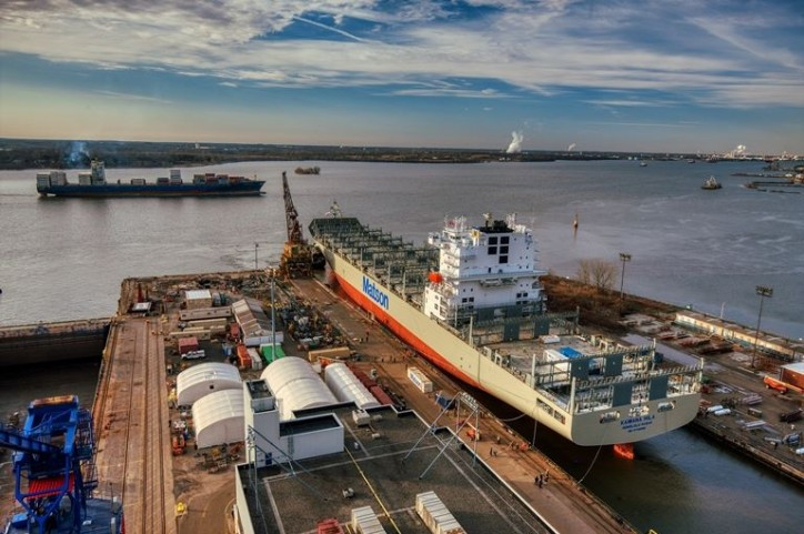 Philly Shipyard Delivers Second Container Vessel to Matson