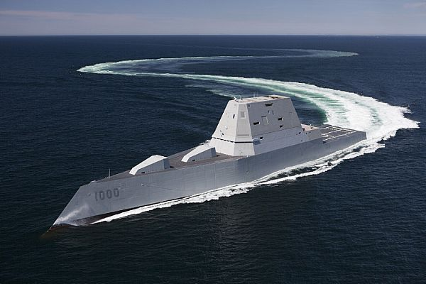 US Navy Accepts Delivery of Future USS Zumwalt (DDG 1000)