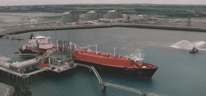 VIDEO: Madrid Spirit At New Dunkerque LNG Terminal