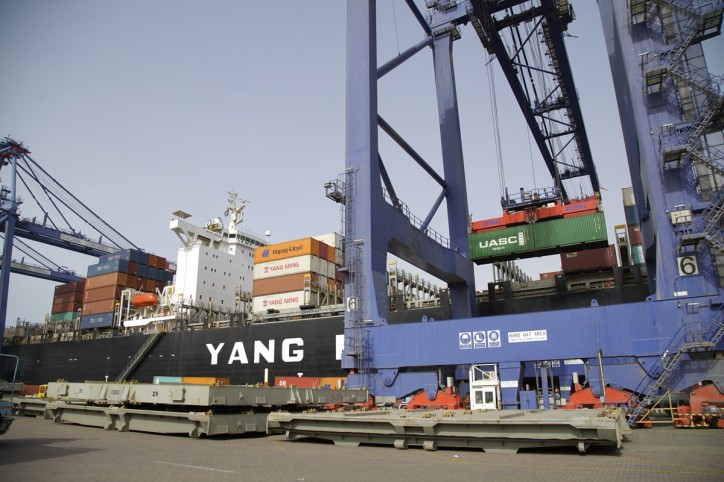 """Aqaba Container Terminal Welcomes the Maiden Call of the New Asia Red Sea Service """"AR1"""""""