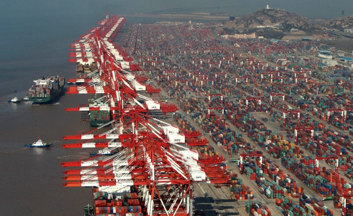 Shanghai port records 1.7% increase in volumes, up to 3.12 million TEUs in July