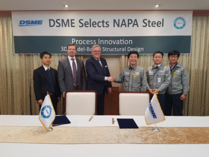 DSME Selects NAPA Steel to Transform Ship Design Processes
