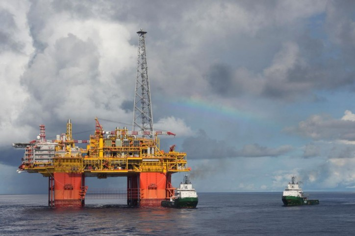 World's Largest Semi-Submersible platform safely moored in Ichthys Field