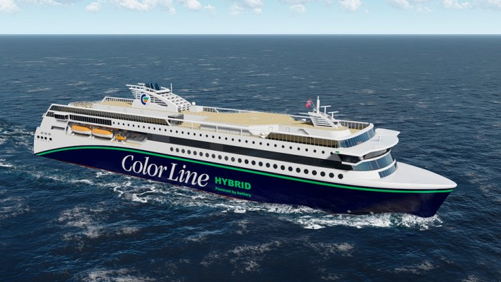 Color Line Signs LoI On The World's Largest Hybrid Vessel (Video)
