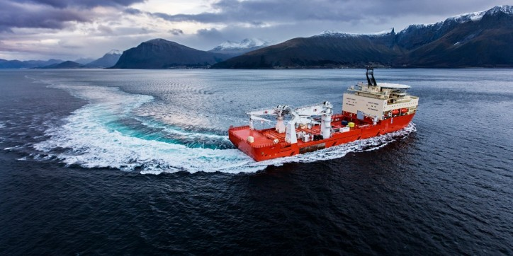 Ulstein offshore vessel Island Venture Ready for completion