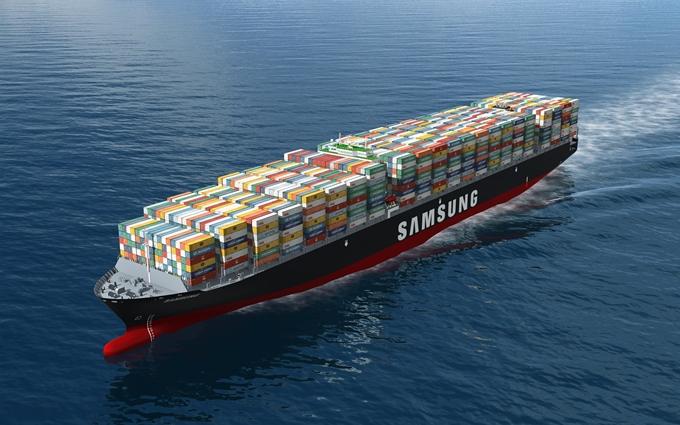 21100 teu ships