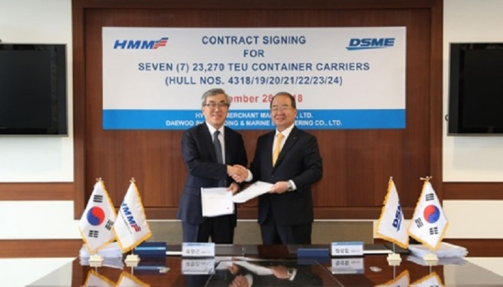 Hyundai Merchant Marine places 3.15 tln-won ship order with 3 shipbuilders