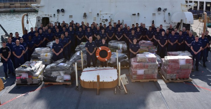 U.S. Coast Guard offloads 6 tons of cocaine in Port Everglades