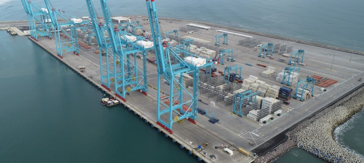 Van Oord and BAM International complete state-of-the-art container terminal in Costa Rica (Video)
