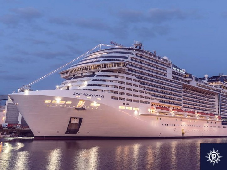 MSC Group welcomes cruise ship MSC Meraviglia to its fleet