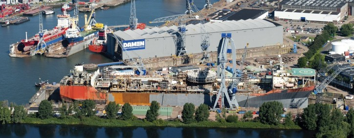 Changing market situations force Damen Shiprepair & Conversion to review strategy