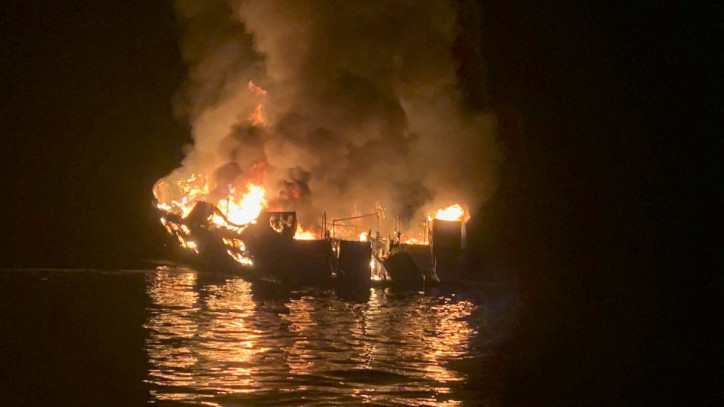 At least 25 Dead after Fire on Diving Boat off California