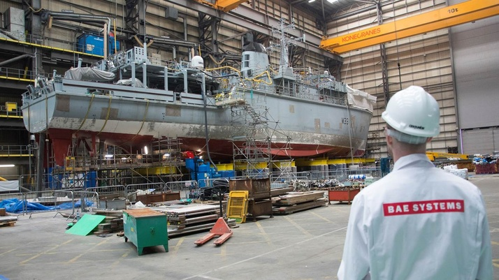 Ship maintenance work begins at new Small Ships Centre of Specialisation in Portsmouth