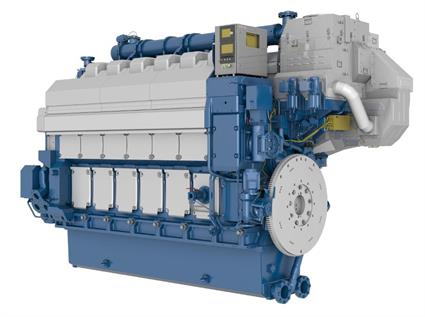 Wärtsilä 34DF main engine