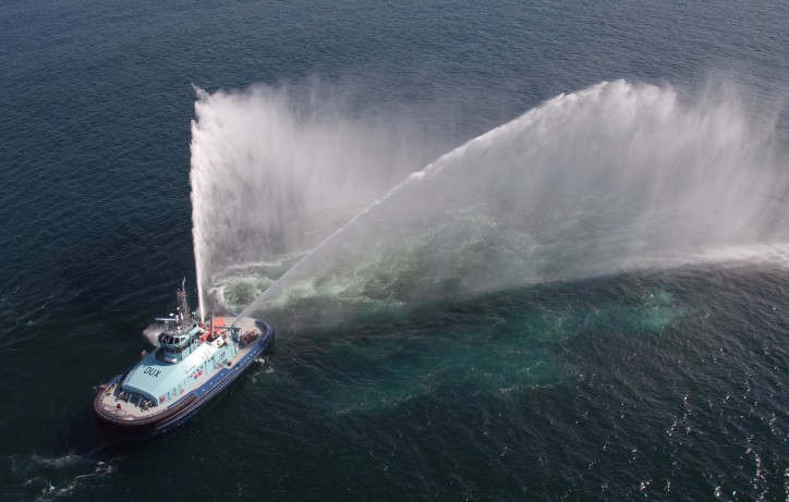 Gondan announces delivery of the first dual fuel tug built in Europe