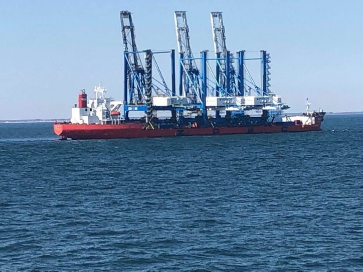 ZHEN HUA 25 to Navigate beneath Delaware Memorial Bridge on March 26