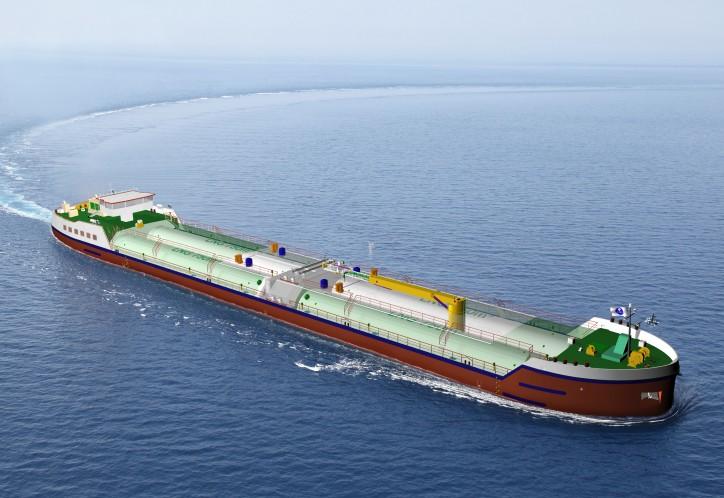 New LNG bunker barge will feature Wärtsilä cargo handling system