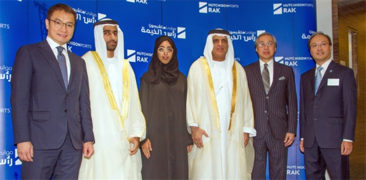 Hutchison Ports Celebrates New Terminal Operation at Saqr Port in Ras Al Khaimah