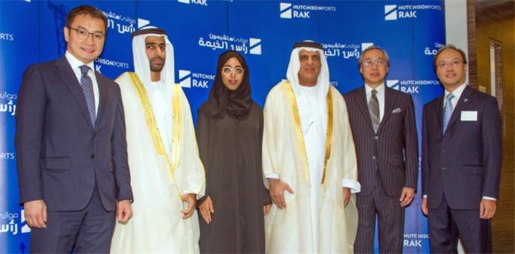 Hutchison Ports Celebrates New Terminal Operation at Saqr Port in Ras Al Khaimah