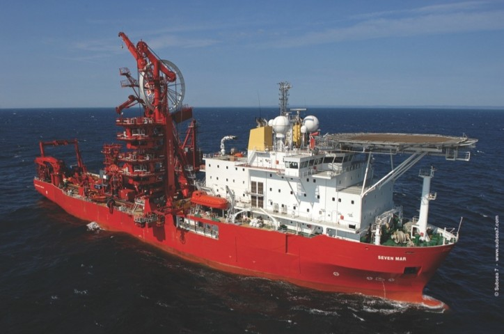 Subsea 7 announced vessel substitution, offshore Brazil