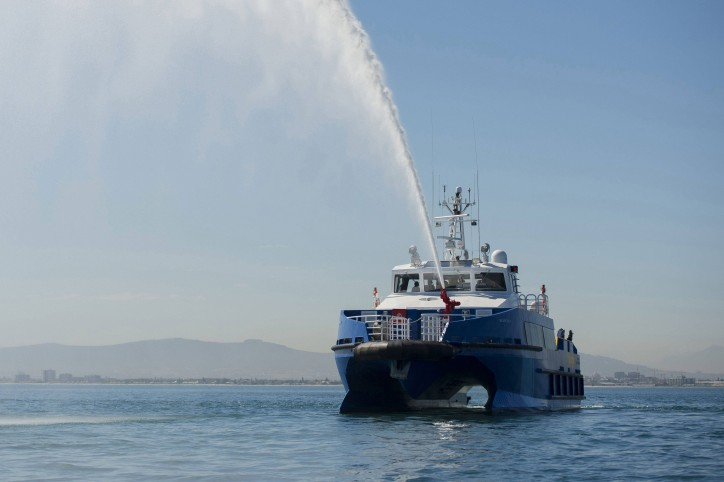 Wave Piercing Crew Boat Successfully Delivered By South African Shipyard