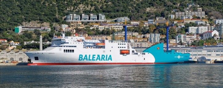 Gibdock converts ferry to run on LNG fuel