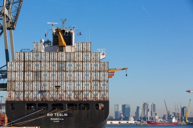 Freight throughput in the Port of Rotterdam grows by 5.1% in first quarter of 2019