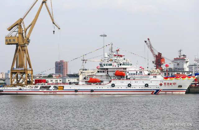 Chinese SAR vessel with advanced sonar to search for Flight MH370