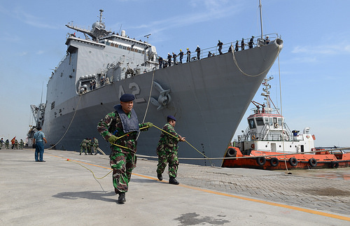 US and Malaysian Navies Launch Naval Exercise