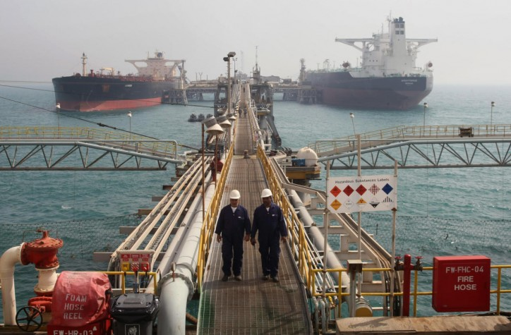 Huge oil tanker traffic jam builds at Iraq's Basra port