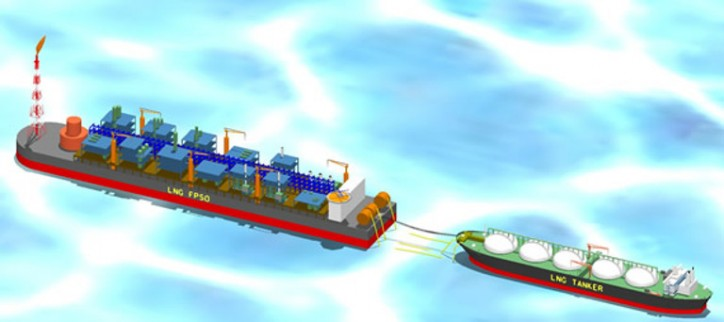 ABS issues Approval in Principle for Chiyoda's floating LNG power plant concept