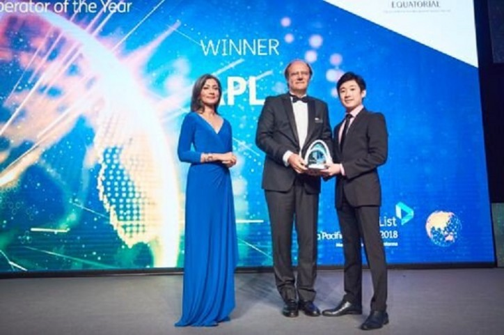 APL Named Containership Operator of the Year at the Lloyd's List Asia Pacific Awards 2018