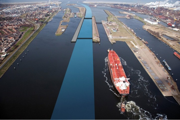 Funding found to build world's biggest sea lock at IJmuiden