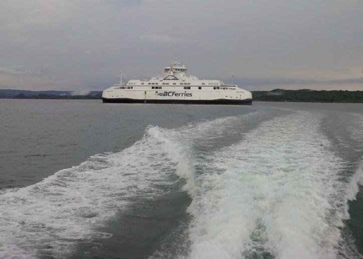 Salish Raven on final leg of journey to B.C. Victoria