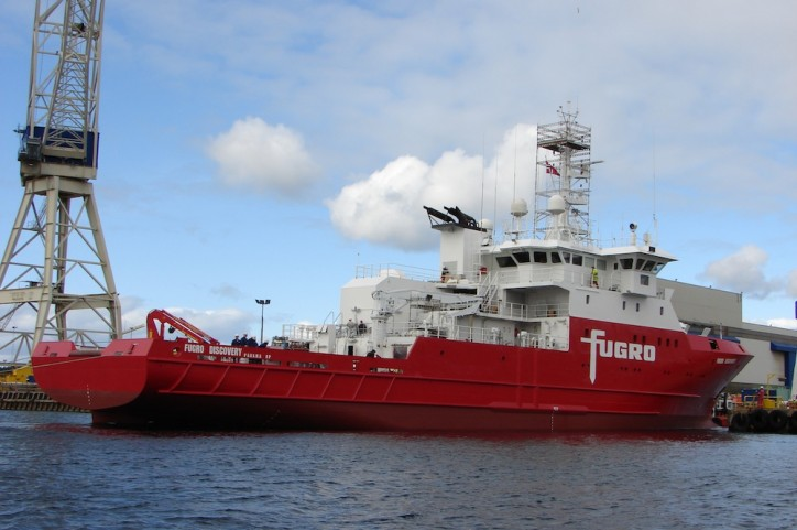 Fugro Discovery's deep-water sonar vehicle lost during MH370 search