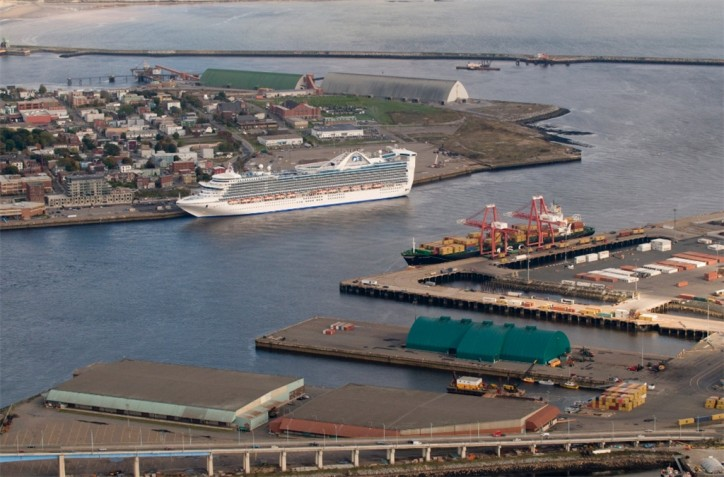 Work on the $205Mln West Side Modernization Project for the Port Saint John's Container Terminal Starts