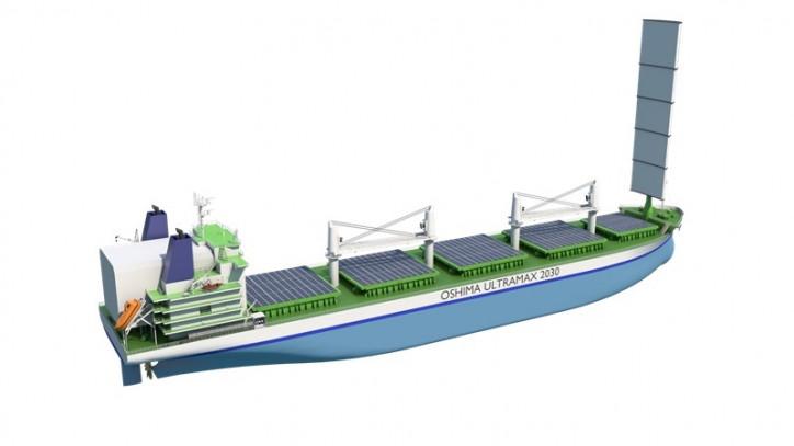 Wärtsilä, Oshima & DNV GL joint development project produces Bulk Carrier design to meet IMO 2030 environmental targets