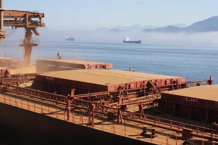 Paranagua, Brazil - Cargo loading
