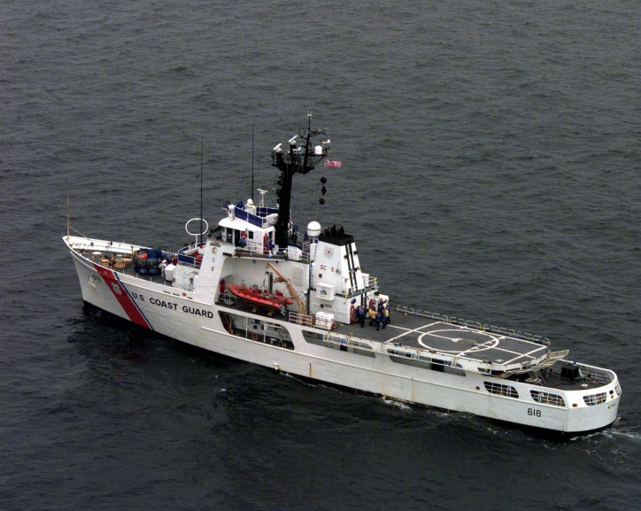 US Coast Guard Cutter Active returns home after interdicting $47million worth of cocaine