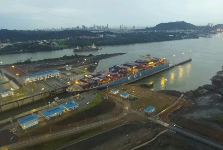Mol Benefactor breaks record for Panama Canal toll