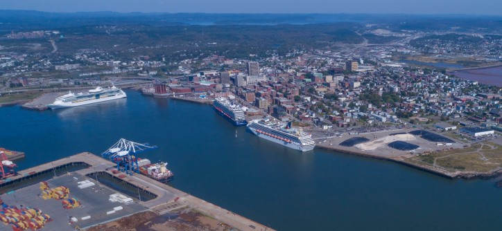 Port Saint John experienced 3% Increase in cruise activity in 2017