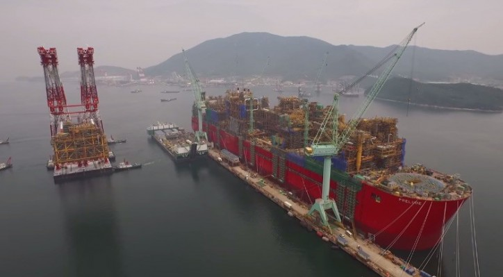 POSH Terasea to Bring Shell Prelude FLNG to Australia