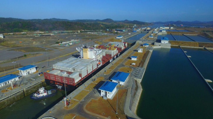 Expanded Panama Canal Welcomes 1000th NeoPanamax Vessel