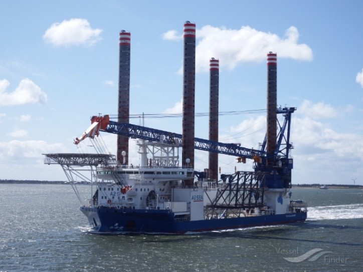 A2Sea to install transition pieces on Merkur Offshore Wind Farm