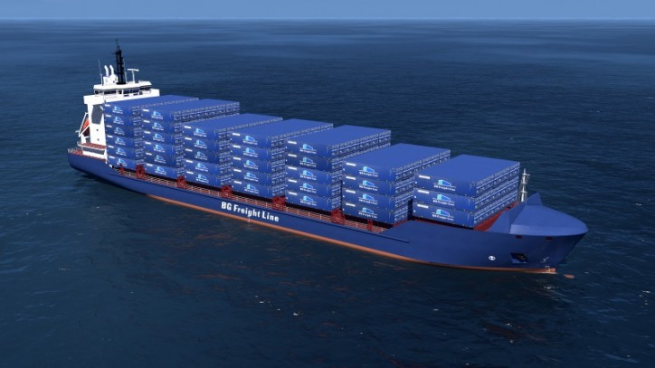 New Ireland Max Container Vessels for BG Freight Line