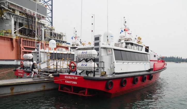 Seaways International takes delivery of two Damen FCS 2206