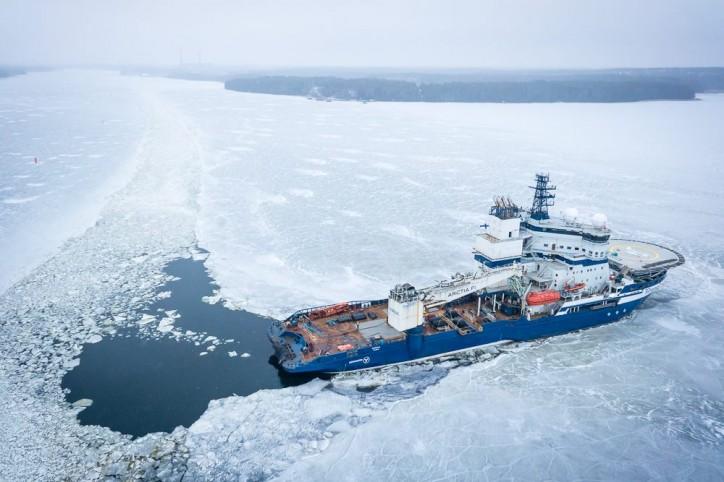 Arctia's multipurpose icebreaker Nordica will transit the Northwest Passage this July